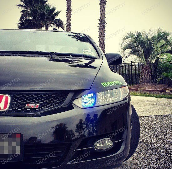 Honda Civic 9005 High Beam LED DRL 3