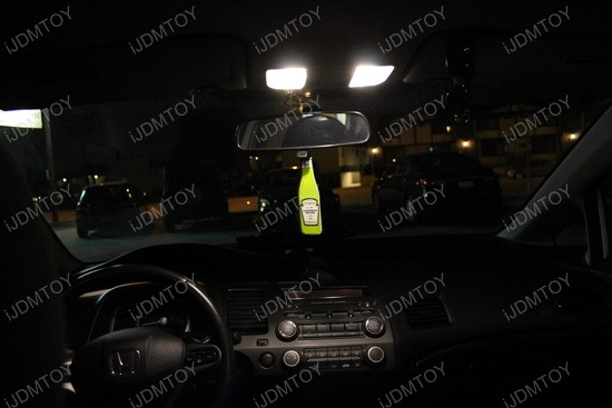 Honda Civic Warm White LED DE3175 2