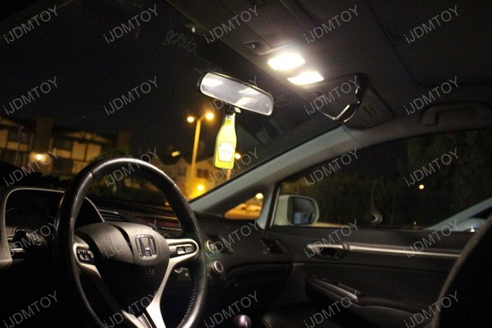 Honda Civic Warm White LED DE3175 3