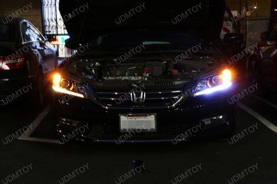 upgrade honda accord led daytime running lights without. Black Bedroom Furniture Sets. Home Design Ideas