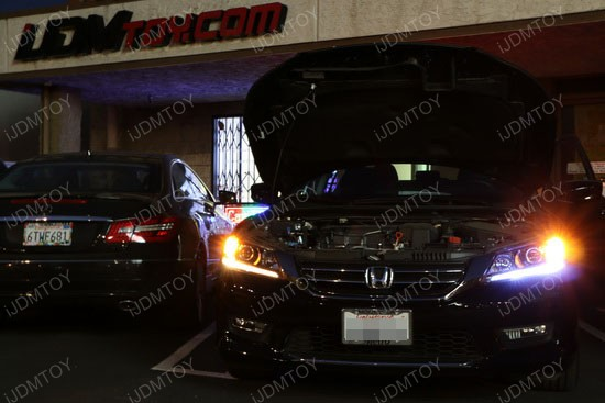 Honda Accord LED Daytime Running Lights 2