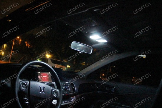 Honda Accord direct fit LED interior 02