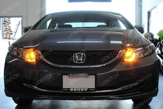 Honda Civic amber drl 01