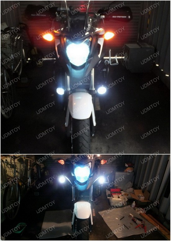 Motorcycle 10W LED Lights 03