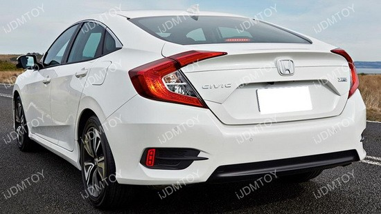Honda Civic LED Bumper Reflector Lights