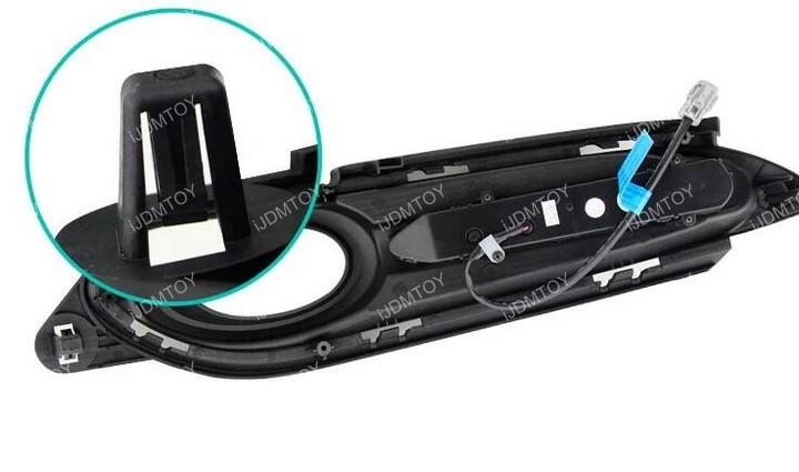 Honda HRV LED DRL bezel 01