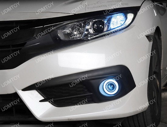 LED Halo Ring Projector Fog Light