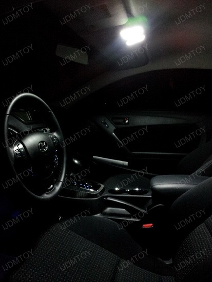 Hyundai Genesis Coupe LED Interior Lights 1