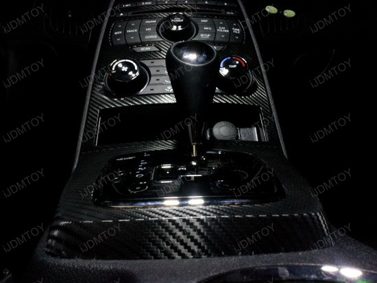 Hyundai Genesis Coupe LED Interior Lights 2