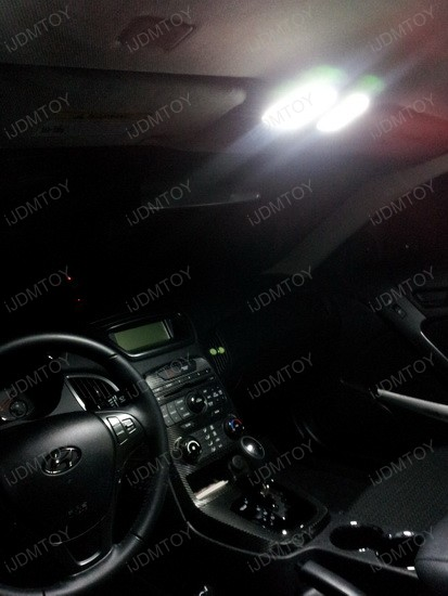 Hyundai Genesis Coupe LED Interior Lights 3