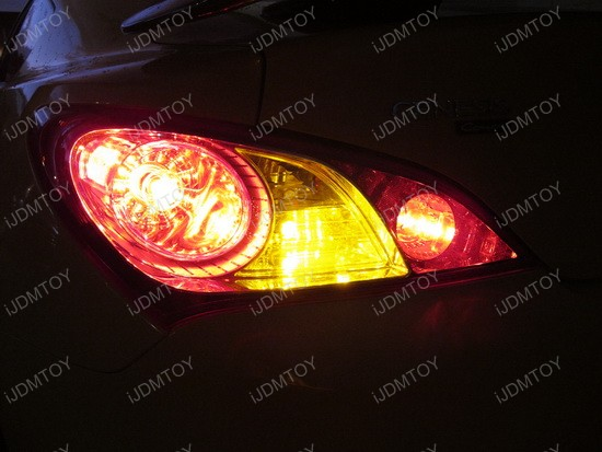 Hyundai Genesis Coupe 1156 LED Turn Signal Bulbs 2