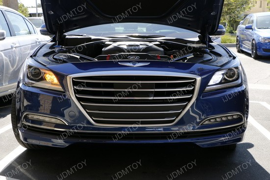 Hyundai Genesis Led Daytime Running Lights Ijdmtoy Blog