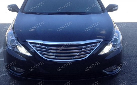 Hyundai Sonata H7 Led Daytime Running Lights Ijdmtoy