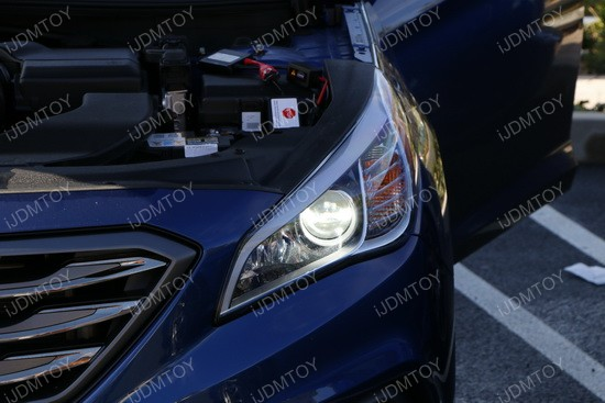 Fresh HID Kit Installation on Hyundai Sonata