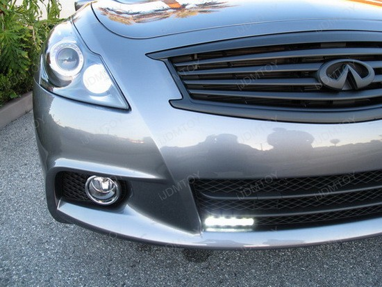 Infiniti G37 Sedan LED DRL Driving Lamps 2