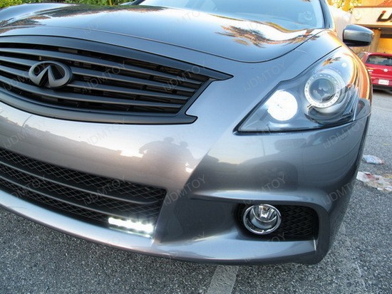 Infiniti G37 Sedan LED DRL Driving Lamps 3