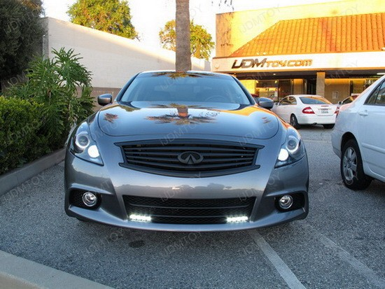 Infiniti G37 Sedan LED DRL Driving Lamps 5