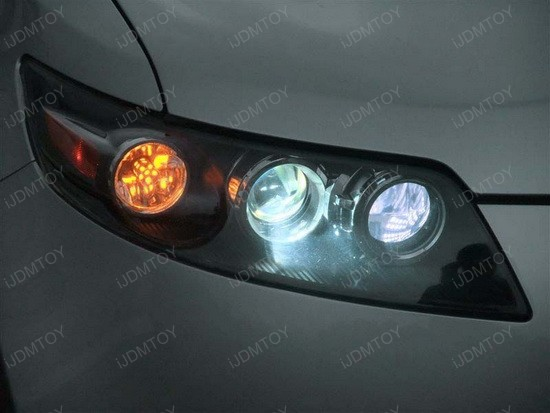 Infiniti FX35 LED DRL T20 Driving Lights 1