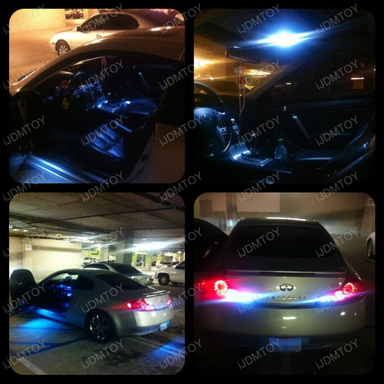 Infiniti G35 LED Complete Combo Deal Package 2
