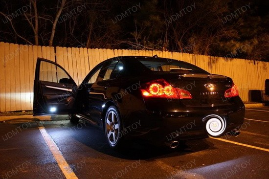 Infiniti G37 Sedan LED Interior Lights Kit 2