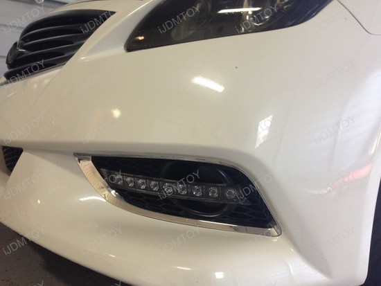Infiniti G37 Bumper LED Daytime DRL Lights 3