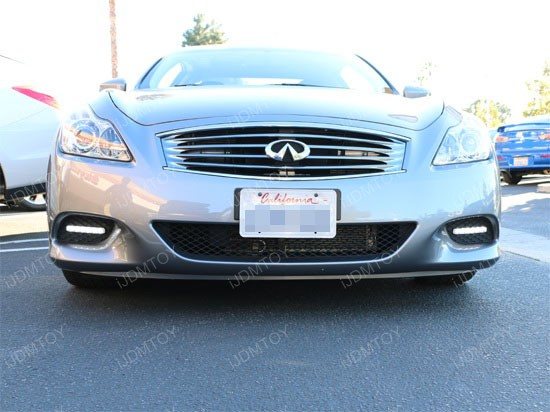 Infiniti G37 LED Daytime Running Lights 1