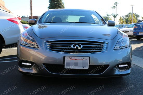 Infiniti G37 LED Daytime Running Lights 3
