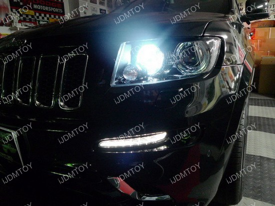 Jeep Grand Cherokee LED Daytime Running Lights
