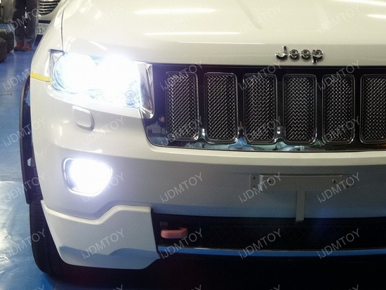 Jeep Grand Cherokee LED Fog 02