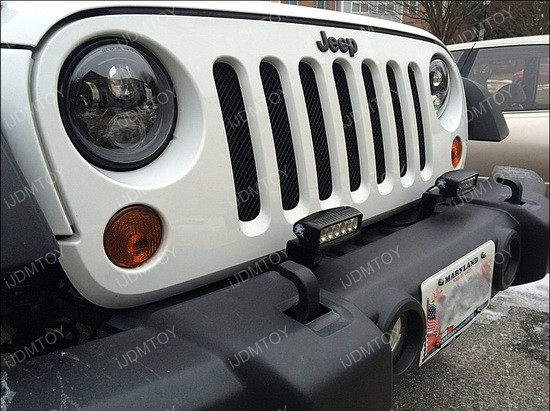 Jeep Wrangler LED Headlights Foglights 02