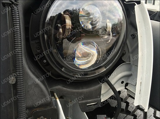 Jeep Wrangler LED Headlights Foglights 03