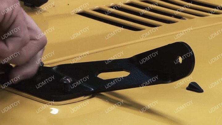 Jeep Wrangler LED Hood Light 04