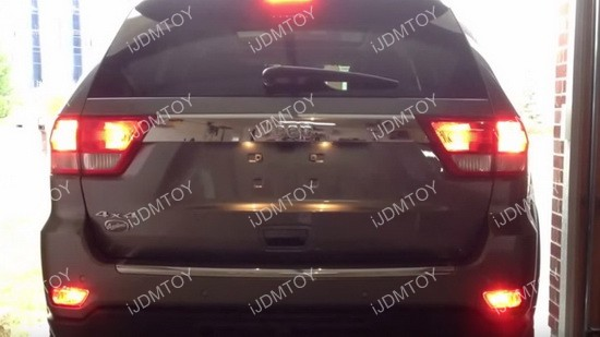 Jeep Grand Cherokee LED Rear Fog Light 10