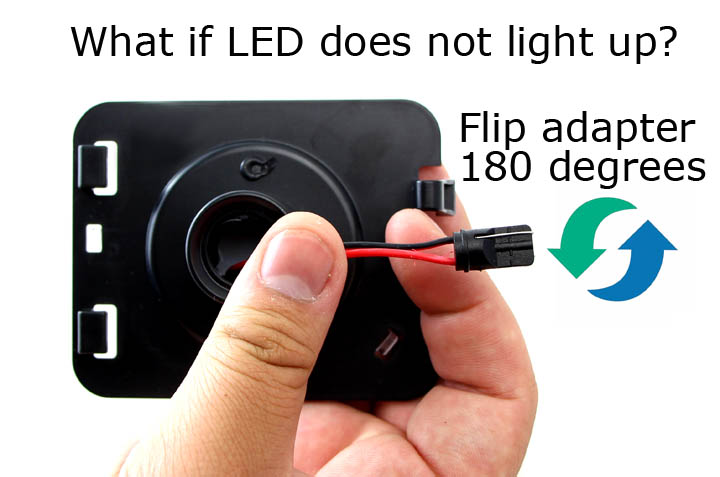 Jeep LED Flare Light Adapter
