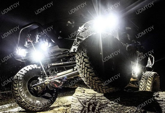 Jeep LED Rock Light Kit 01