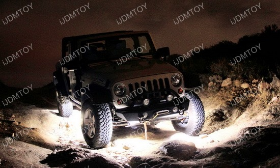 Jeep LED Rock Light Kit 03