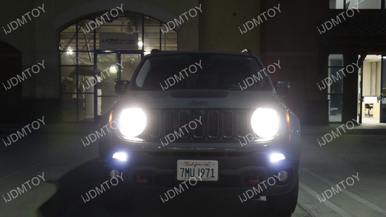 Jeep Renegade LED Daytime Running Lights 01