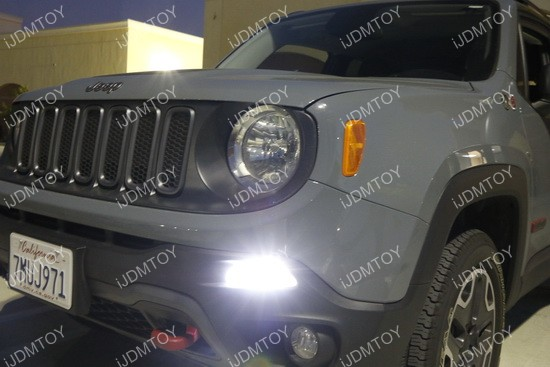 Jeep Renegade LED Daytime Running Lights 02