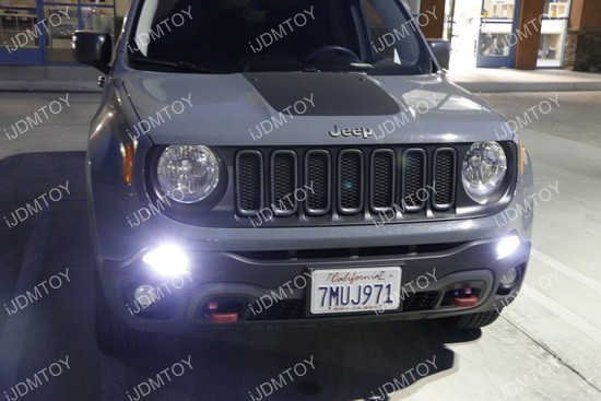 Jeep Renegade LED Daytime Running Lights 03