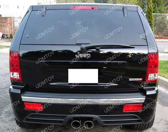 Jeep Grand Cherokee WK LED Rear Fog Light 01