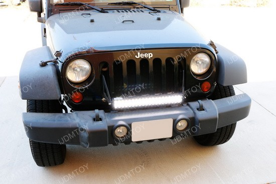Jeep Wrangle -Front Grille LED Light Bar 20