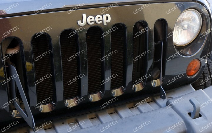Jeep Wrangler LED Light Bar Install 10