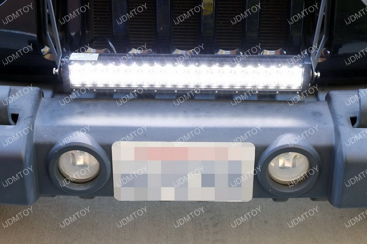 Jeep Wrangler LED Light Bar Install 14