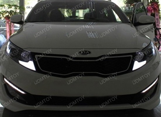 Kia - K5 - LED - Daytime - Running - Lights - 01
