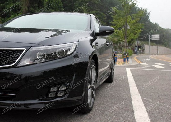 Kia Optima LED DRL quad 01