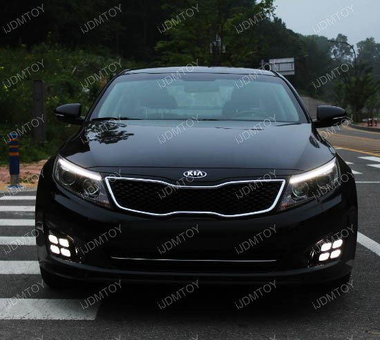 Kia Optima LED DRL quad 02