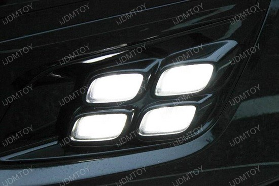 Kia Optima LED DRL quad 03
