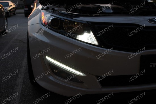 Honda Civic Si LED Interior Strip Lights 1
