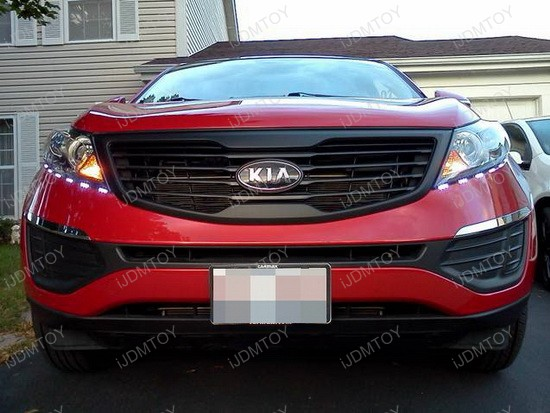 Kia Sportage Daytime Running LED Strip for Headlights 2
