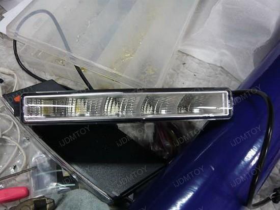 10-LED LED Daytime Running Light Lamps 2